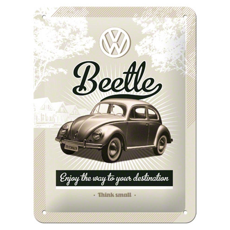 plaque m tal beetle x cm leroy merlin. Black Bedroom Furniture Sets. Home Design Ideas
