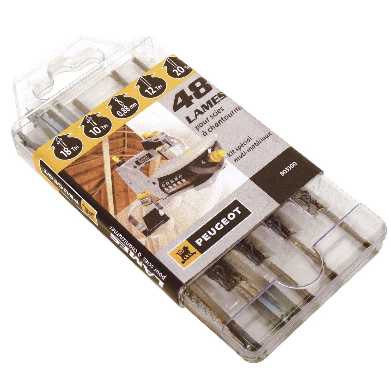 lot de 48 lames universelles coupe multiusage peugeot pour. Black Bedroom Furniture Sets. Home Design Ideas