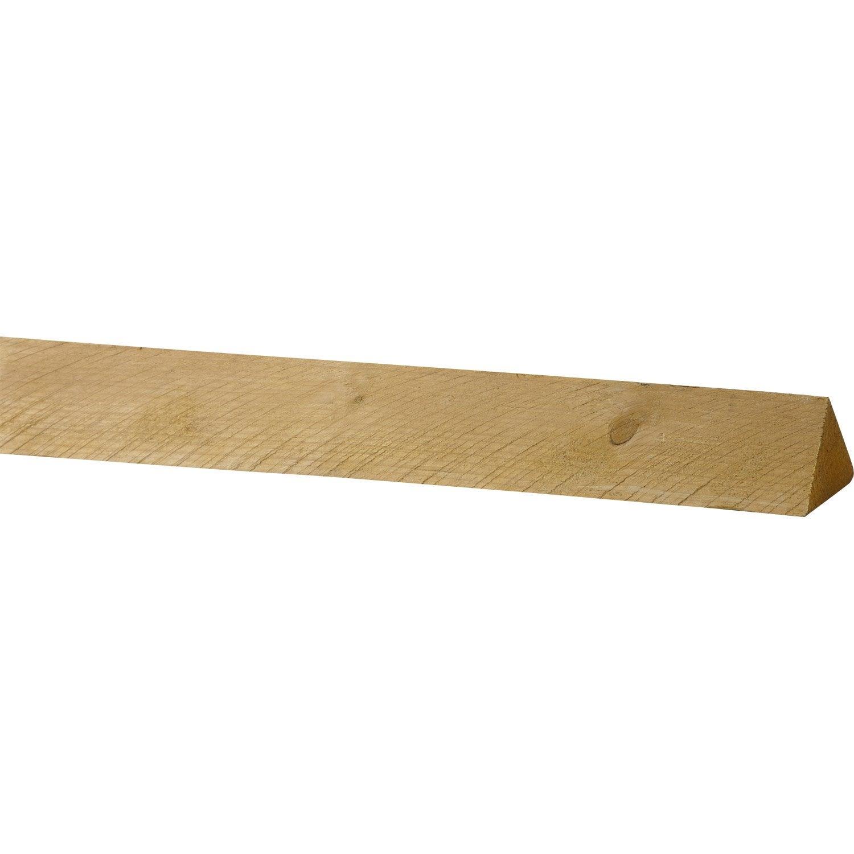chanlatte sapin trait 100x100 mm 4 m chx2 leroy merlin. Black Bedroom Furniture Sets. Home Design Ideas