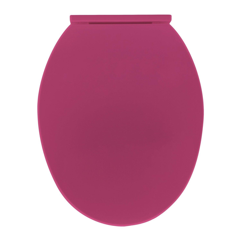 abattant wc polly rose shocking n 3 leroy merlin. Black Bedroom Furniture Sets. Home Design Ideas