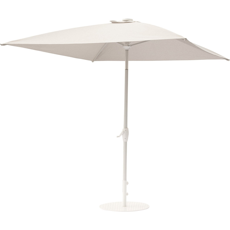 Parasol droit v nus gris carr x cm leroy merlin - Rode leroy merlin parasol ...