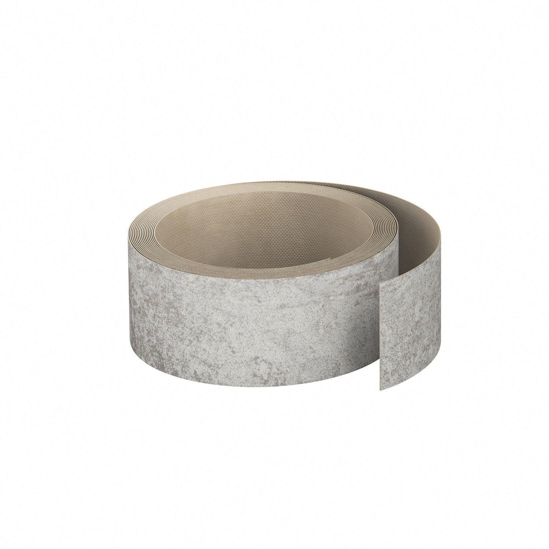chant de plan de travail stratifi effet tain mat ep 0 6 mm leroy merlin. Black Bedroom Furniture Sets. Home Design Ideas