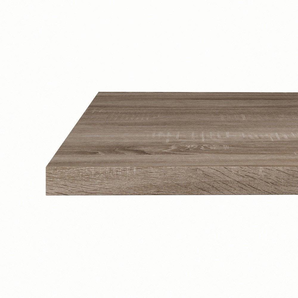plan snack stratifi effet ch ne gris mat x cm mm leroy merlin. Black Bedroom Furniture Sets. Home Design Ideas