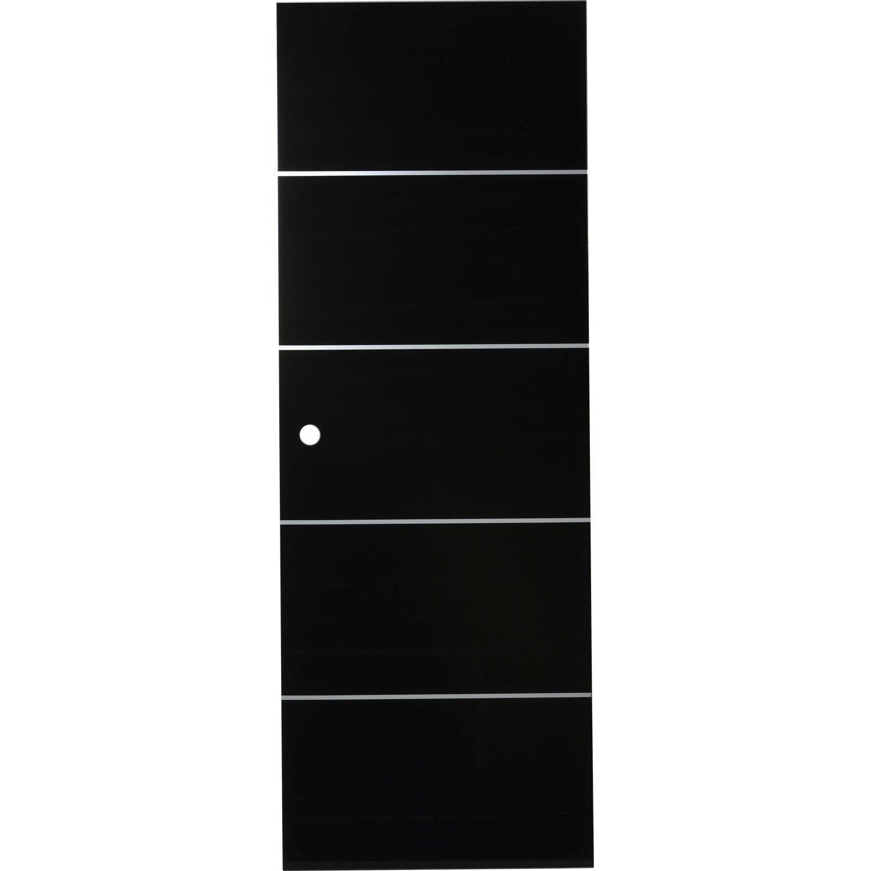 Porte coulissante verre tremp miami artens 204 x 83 cm - Porte coulissante verre trempe leroy merlin ...