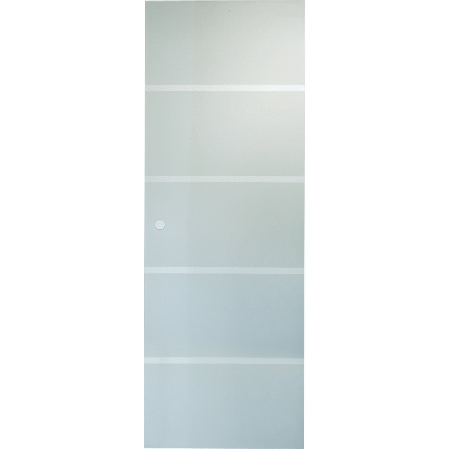 Porte coulissante verre tremp miami artens 204 x 83 cm for Porte interieur 63 cm