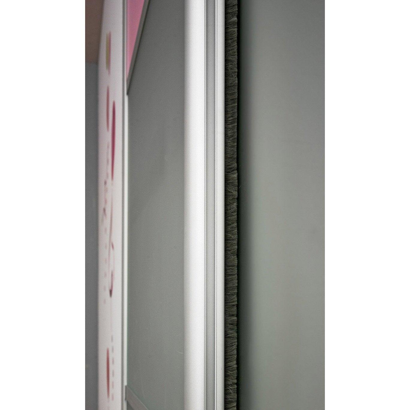 Joint entre vantaux gris cm leroy merlin - Accessoire porte coulissante placard ...