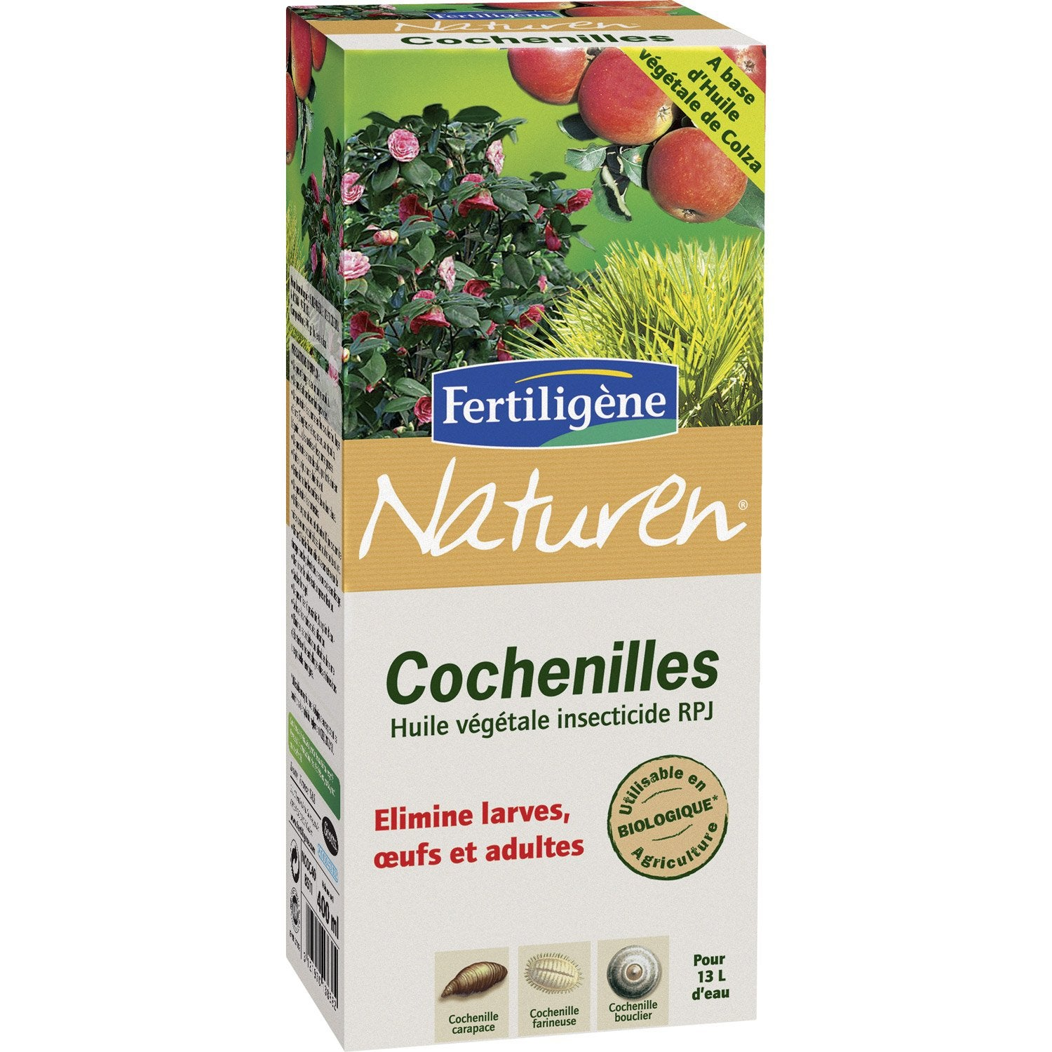 traitement des insectes cochenilles naturen 400ml leroy merlin. Black Bedroom Furniture Sets. Home Design Ideas