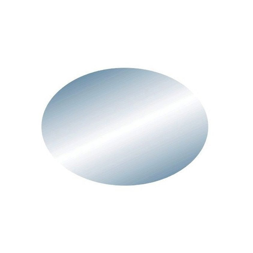 miroir non lumineux d coup ovale x cm oval