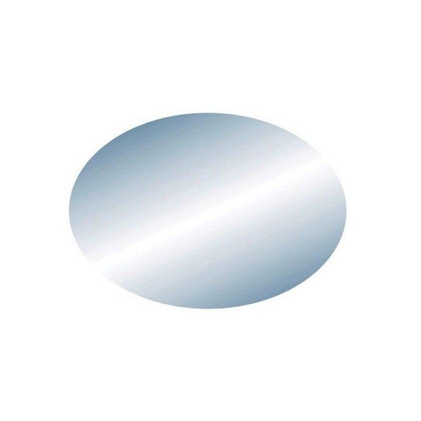 miroir ovale 38 x 27 cm leroy merlin. Black Bedroom Furniture Sets. Home Design Ideas