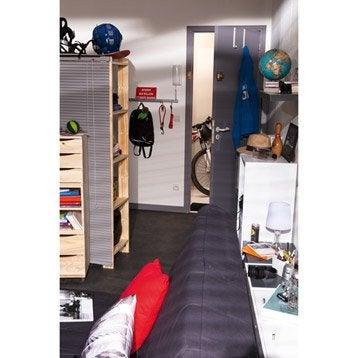etag re en pin 4 tablettes mod le spacea l82xh170xp40cm leroy merlin. Black Bedroom Furniture Sets. Home Design Ideas