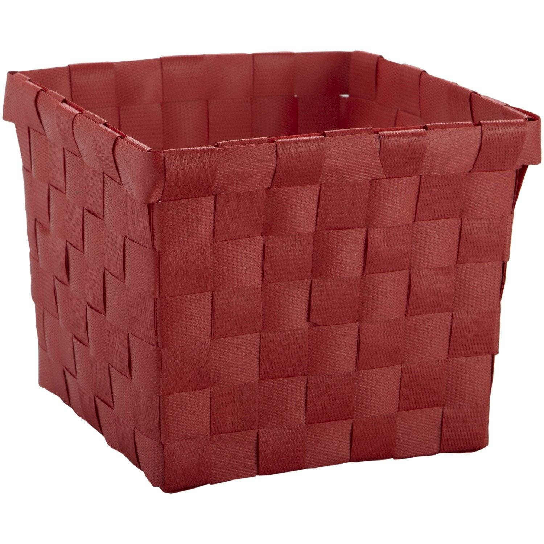 Panier en plastique rouge rouge 5 Happy