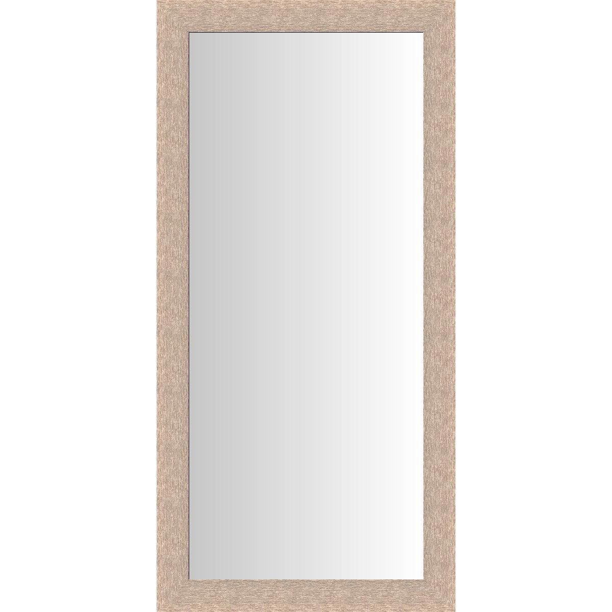 Miroir dublin ch ne clair blanchi 60x140 cm leroy merlin for Miroir 140x60