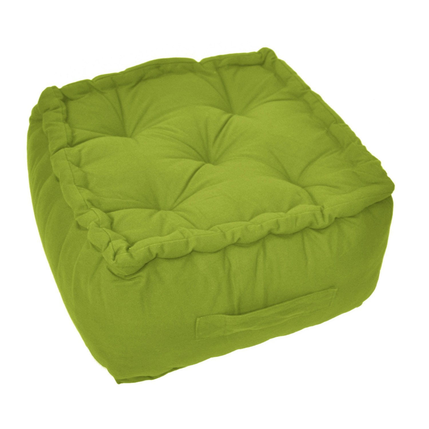 pouf bachette vert pistache n 3 40 x 40 cm leroy merlin. Black Bedroom Furniture Sets. Home Design Ideas