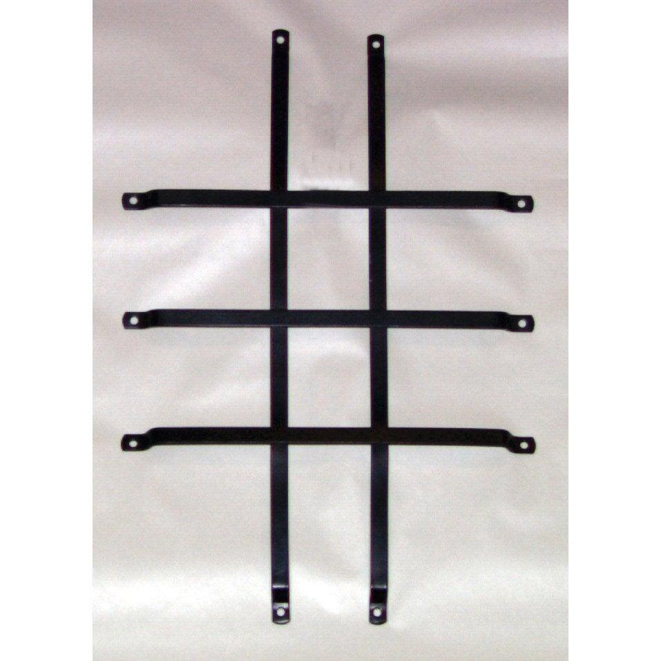 grille de protection pour hublot pour porte de garage coulissante leroy merlin. Black Bedroom Furniture Sets. Home Design Ideas