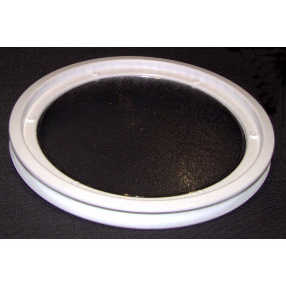 hublot rond blanc pour porte de garage coulissante leroy merlin. Black Bedroom Furniture Sets. Home Design Ideas