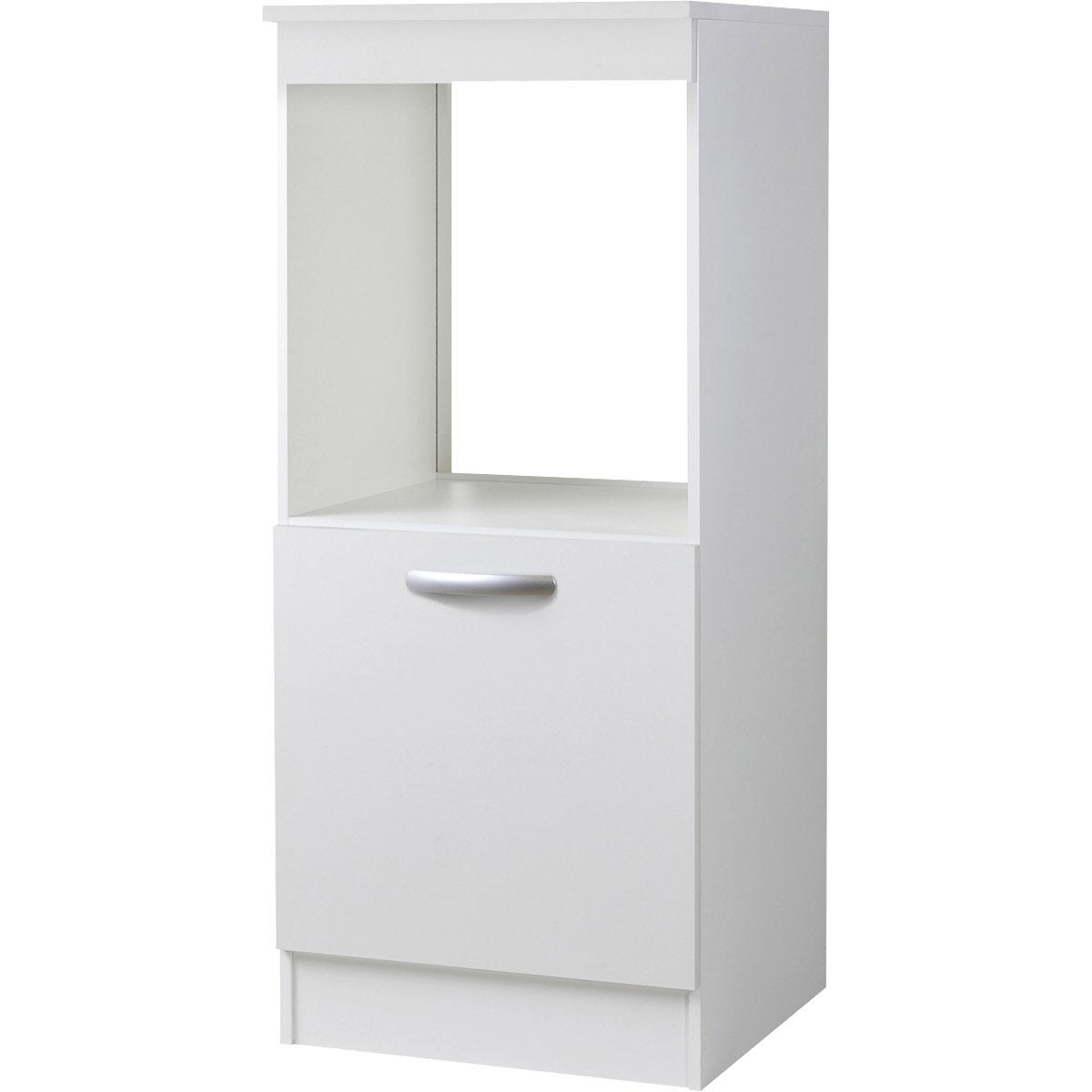 meuble de cuisine 1 2 colonne 1 porte blanc l60x. Black Bedroom Furniture Sets. Home Design Ideas