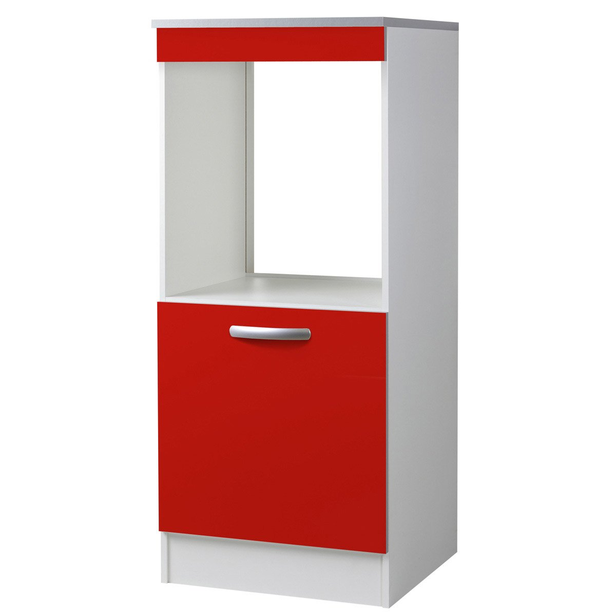 meuble de cuisine 1 2 colonne 1 porte rouge l60x p60cm leroy merlin. Black Bedroom Furniture Sets. Home Design Ideas