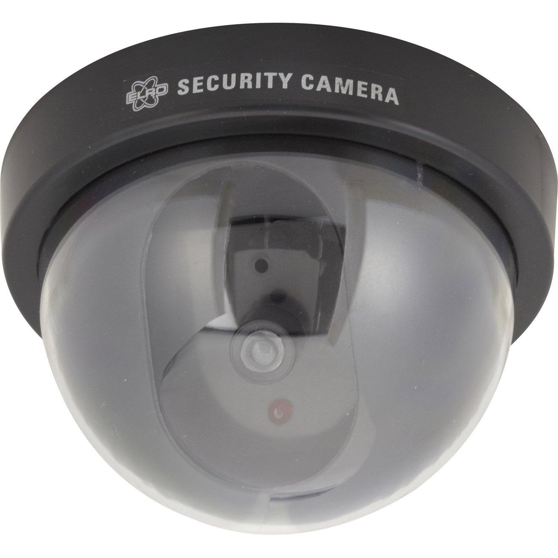 Cam ra factice d me avec led cligotante smartwares cs44d leroy merlin - Camera factice leroy merlin ...