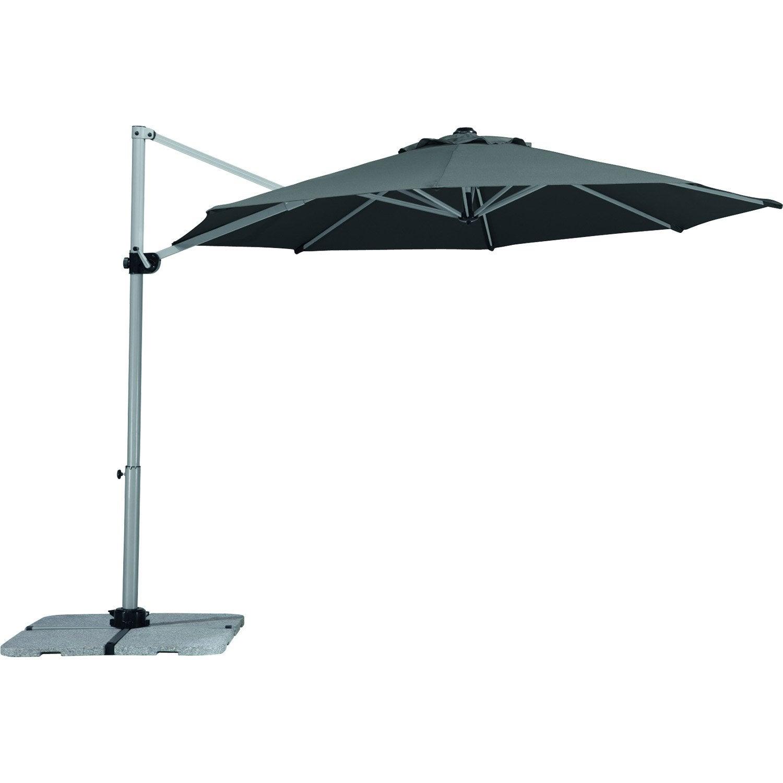 parasol excentr samos anthracite octogonal x. Black Bedroom Furniture Sets. Home Design Ideas