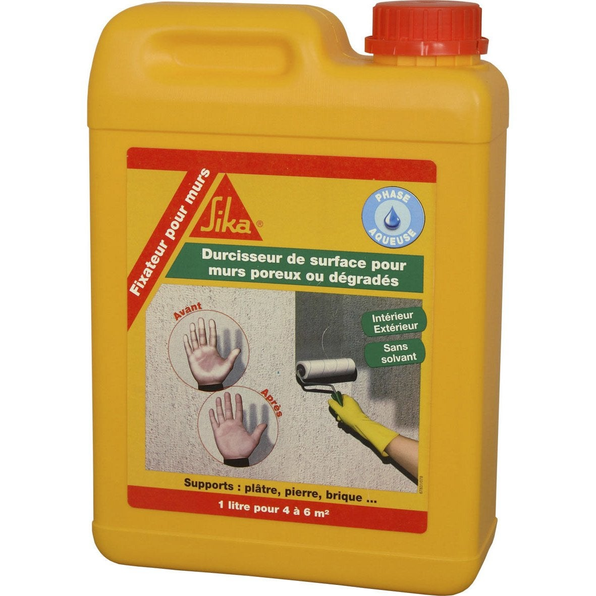 R sine protectrice sika impermur 2 l incolore leroy merlin - Traitement anti humidite ...