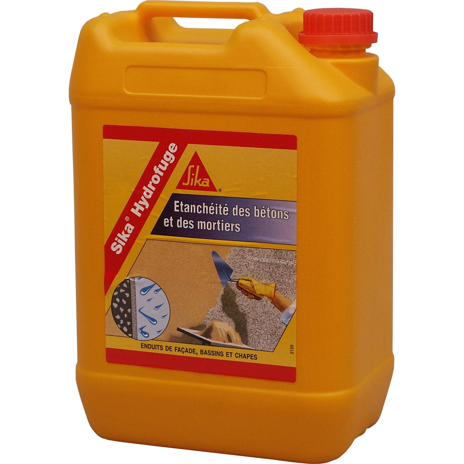 Hydrofuge pour mortier sika 5 l blanc leroy merlin - Prix placo hydrofuge leroy merlin ...