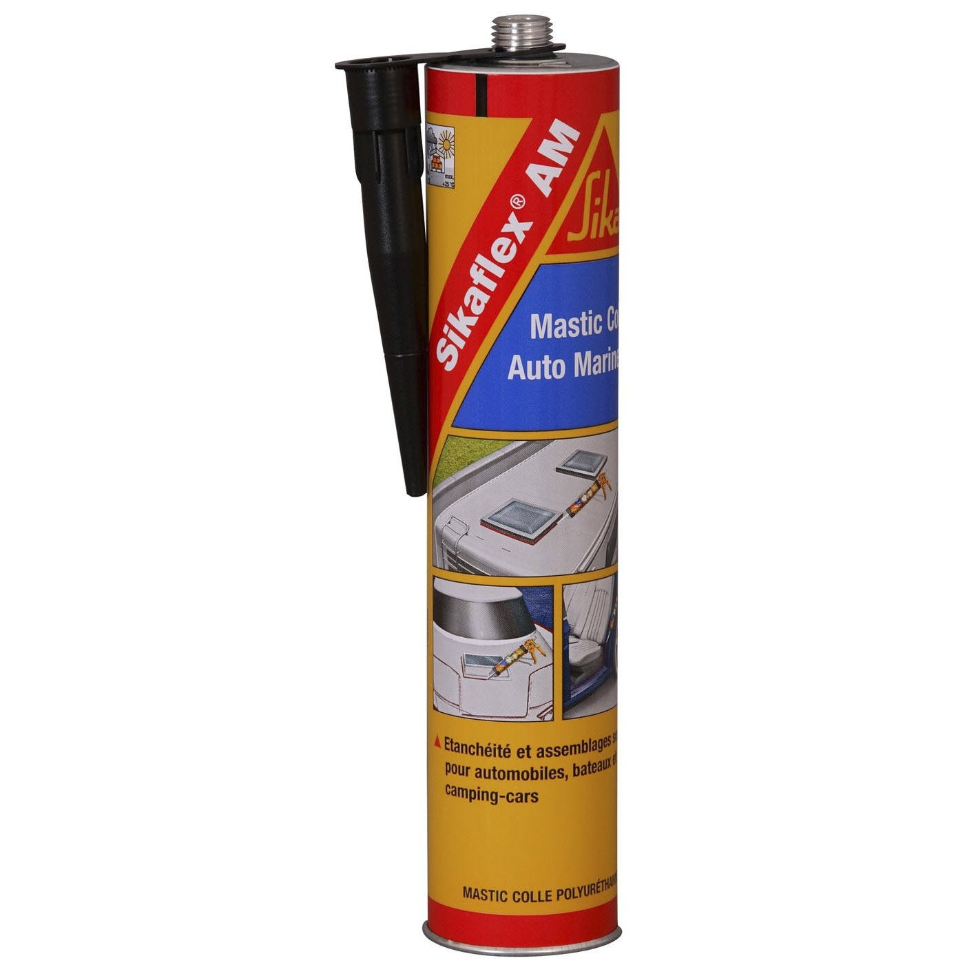 Mastic colle sika sikaflex am 300 ml noir leroy merlin - Colle pour lambris pvc ...