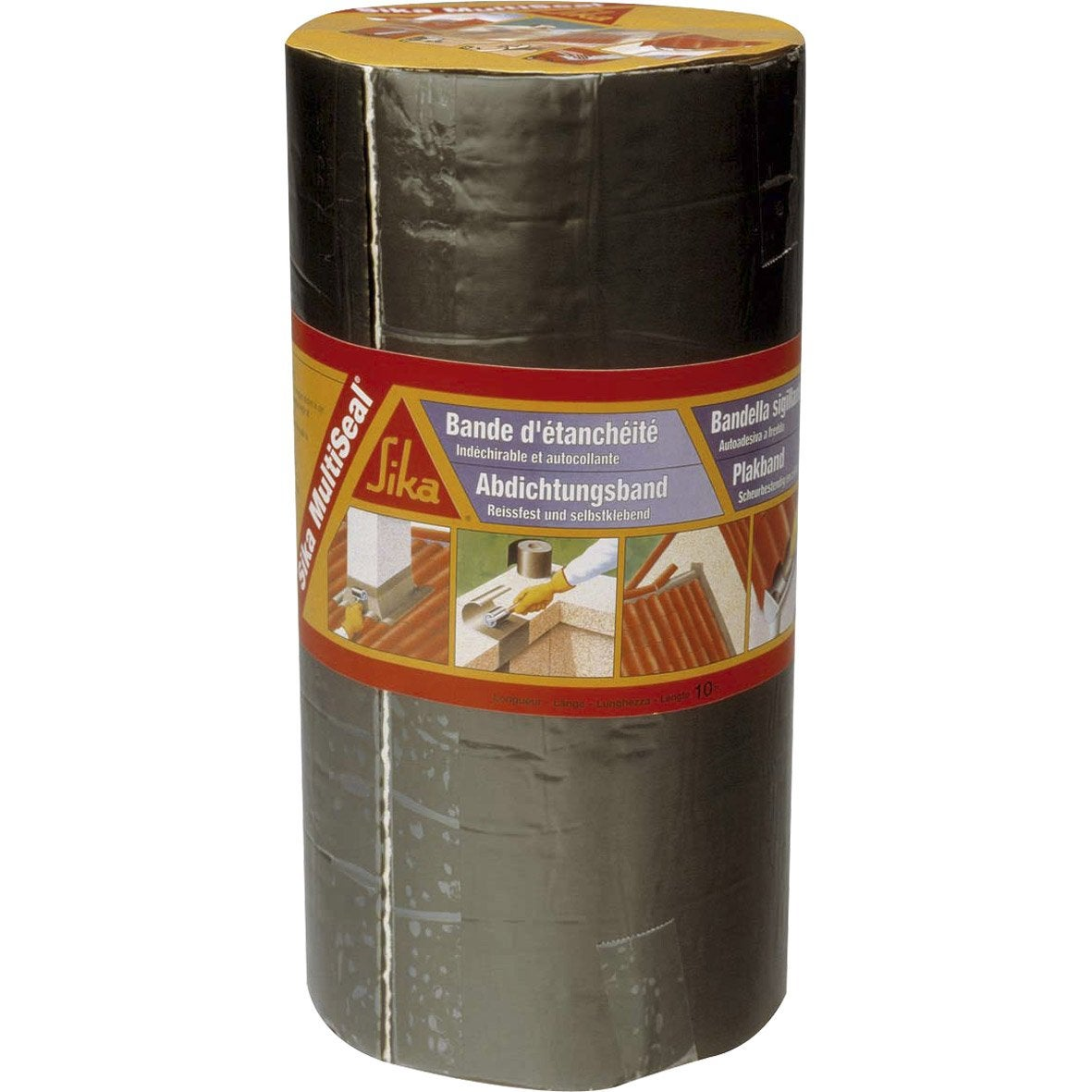 Bande adh sive d 39 tanch it sika multiseal x l 0 3 m for Croisillon autonivelant leroy merlin