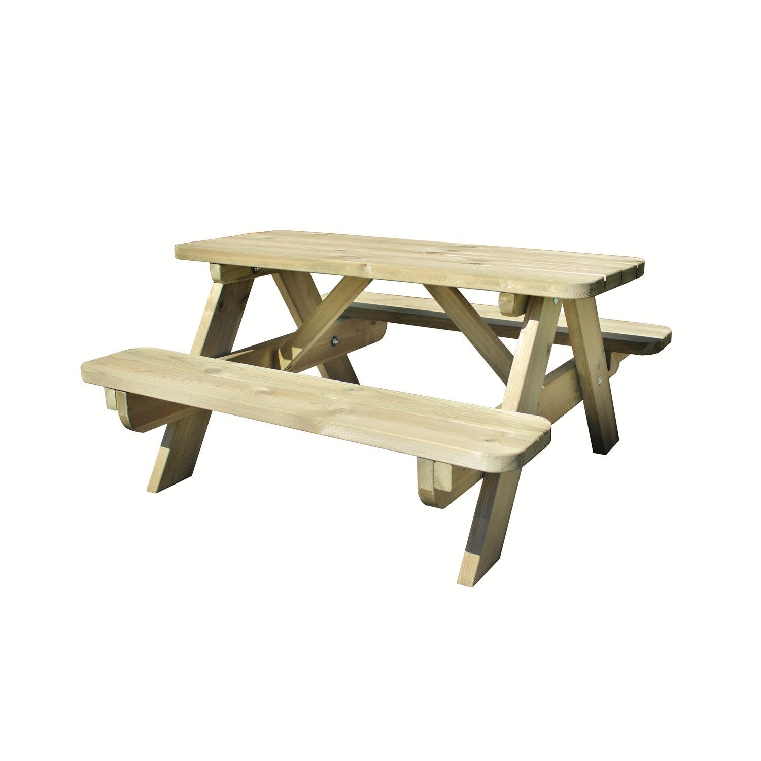 Plan table de jardin en bois maison design for Table bois jardin