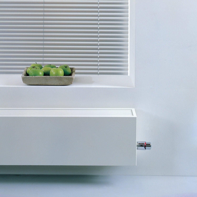 Radiateur chauffage central basse temp rature mini15 blanc for Radiateur pour chauffage central basse temperature