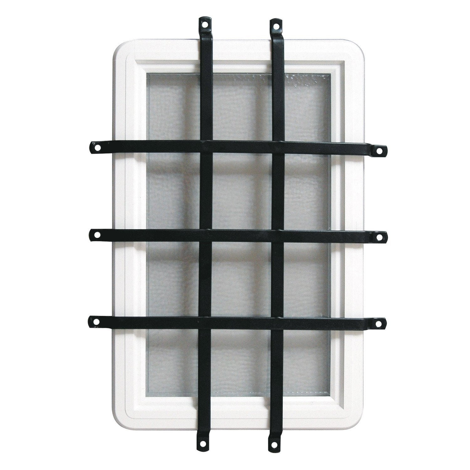 Grille anti effraction pour porte de garage coulissante for Anti effraction fenetre pvc