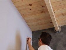 comment poser un faux plafond sur ossature bois leroy merlin. Black Bedroom Furniture Sets. Home Design Ideas