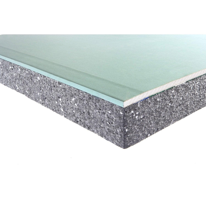 doublage en polystyr ne expans th 32 siniat 2 6 x. Black Bedroom Furniture Sets. Home Design Ideas