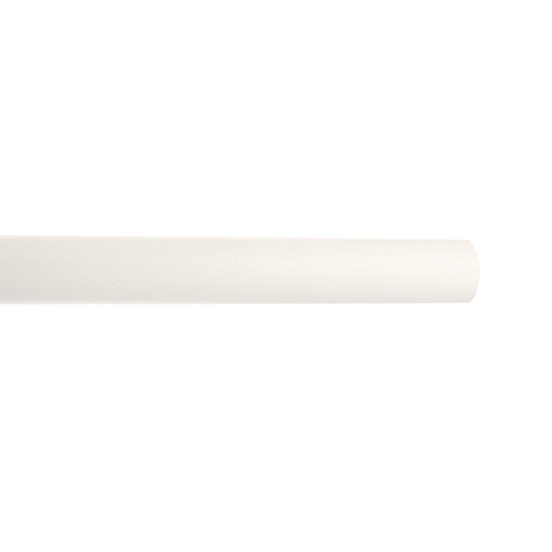 Tringle rideau bois blanc brillant inspire diam 28 mm - Tringle rideaux leroy merlin ...