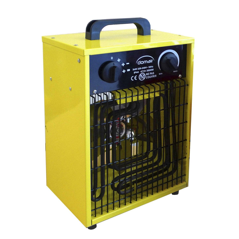 Chauffage de chantier lectrique domair aero3c 3000 w for Chauffage exterieur leroy merlin