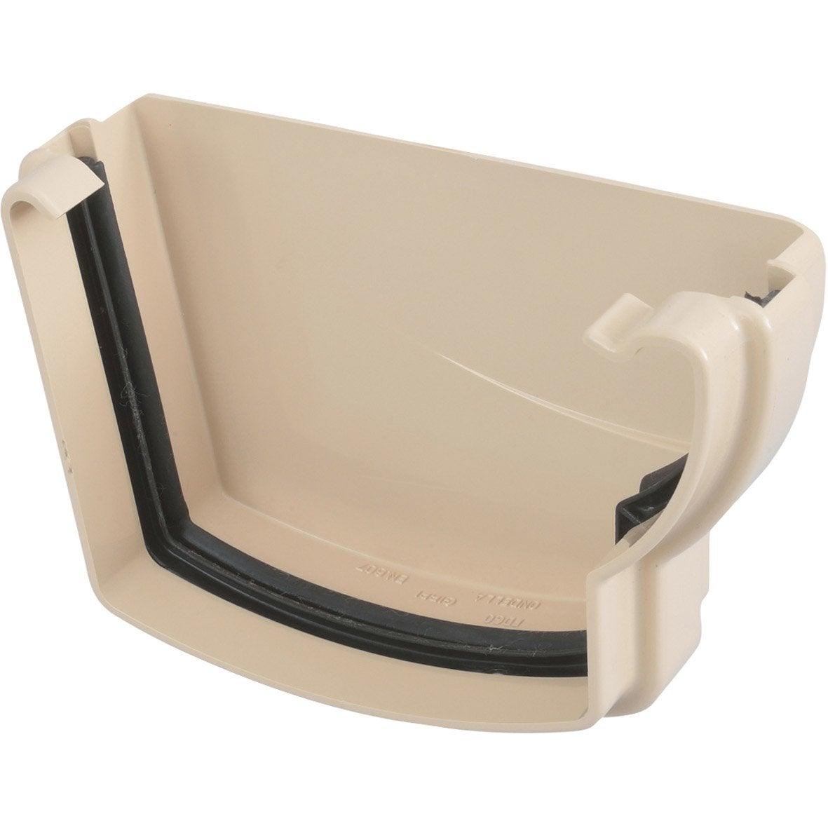 fond de goutti re droit joint pvc sable girpi d cm leroy merlin. Black Bedroom Furniture Sets. Home Design Ideas