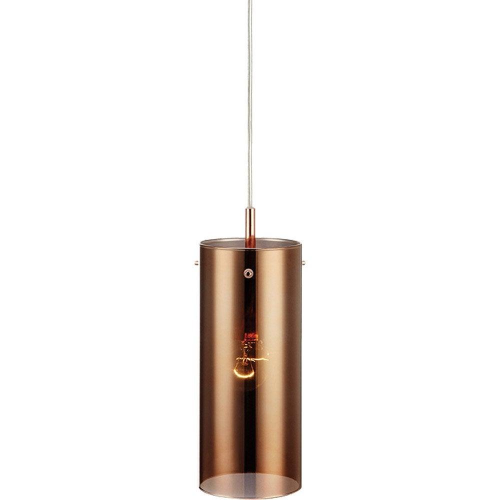 suspension scandinave storm9 verre cuivr 1 x 25 w markslojd leroy merlin. Black Bedroom Furniture Sets. Home Design Ideas