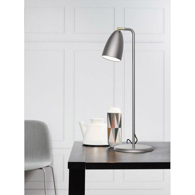 Lampe de bureau led poser acier nexus leroy merlin - Bureau le roy merlin ...