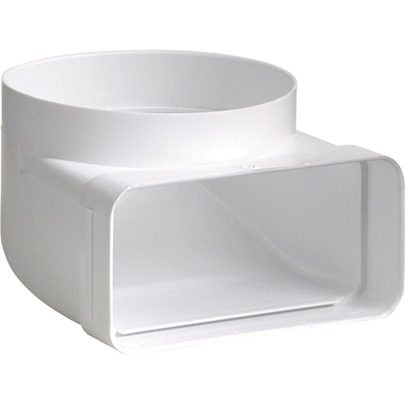 coude mixte rectangulaire pvc s p mm leroy. Black Bedroom Furniture Sets. Home Design Ideas