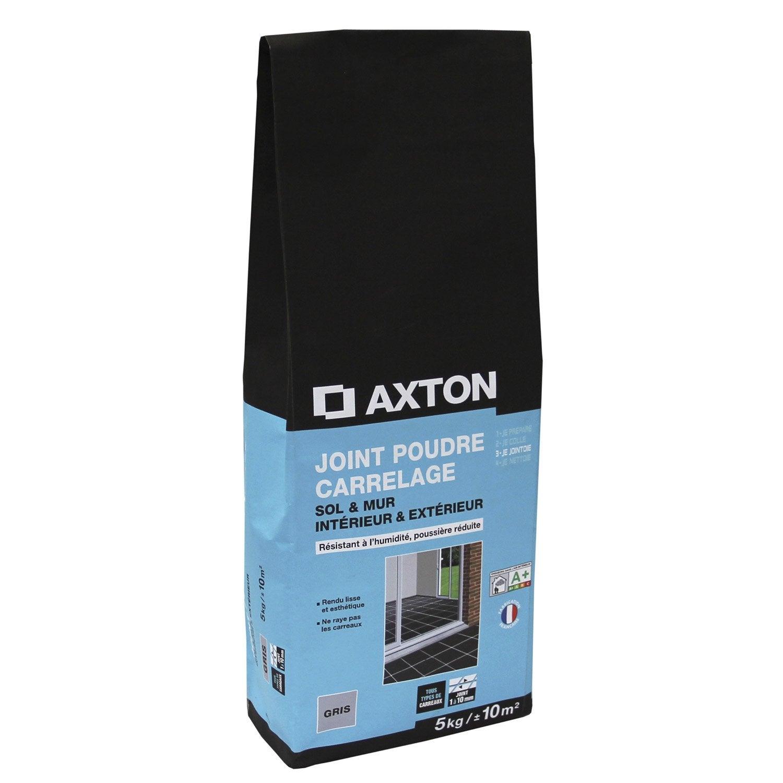 Joint poudre tout type de carrelage et mosa que axton for Joint epoxy pour carrelage
