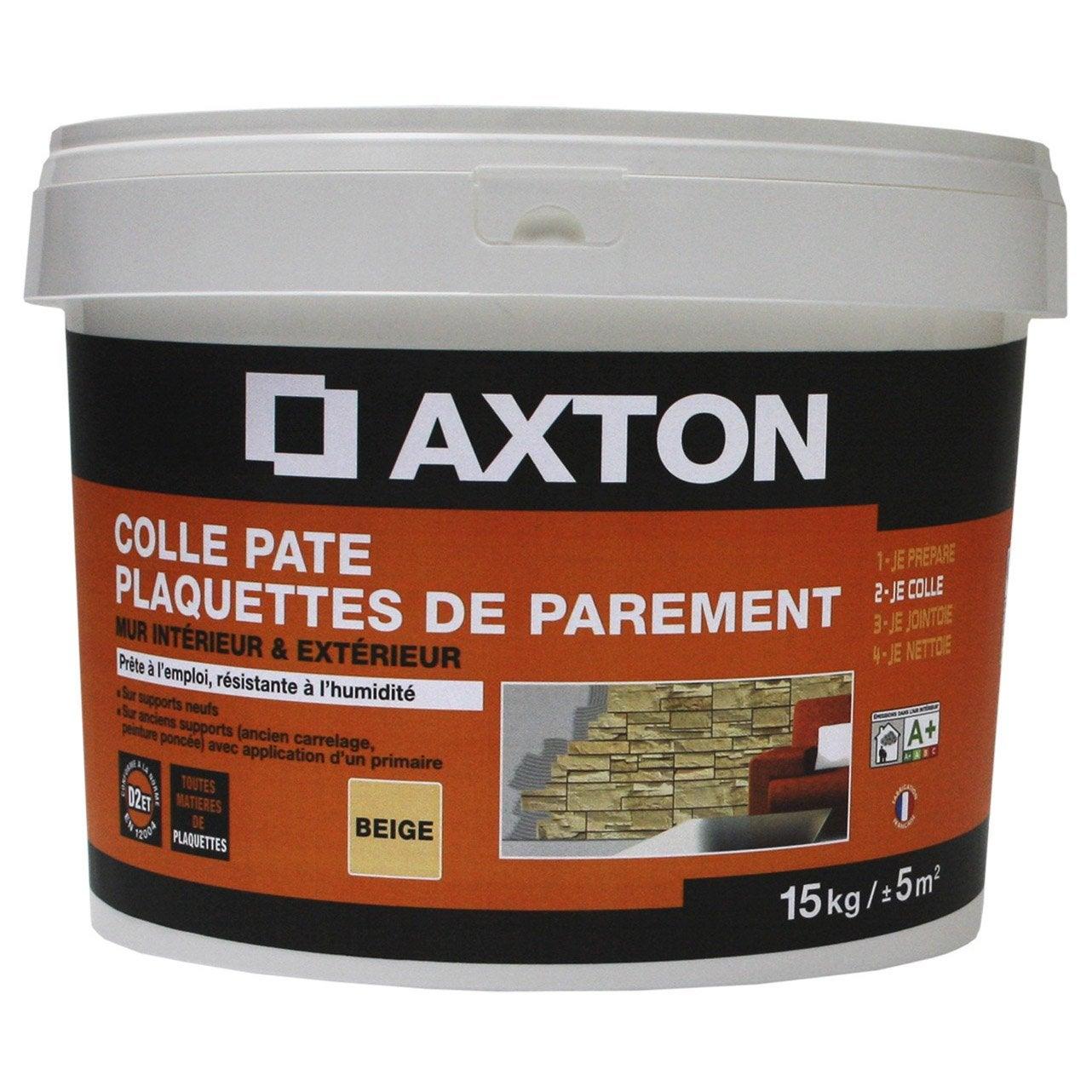 Colle en p te pour carrelage mur 15 kg beige leroy merlin - Colle pour gazon synthetique leroy merlin ...