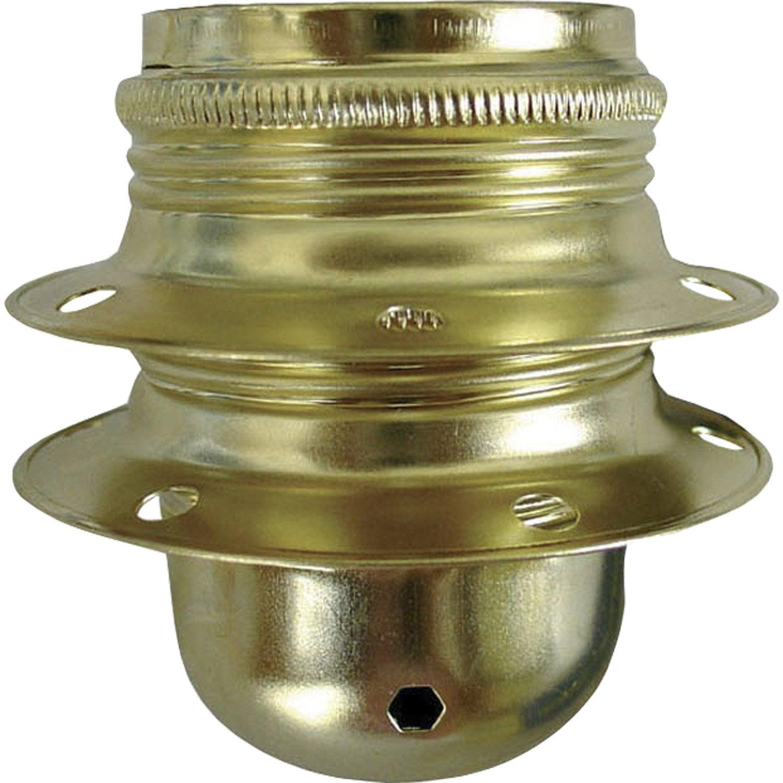 Douille e27 tibelec acier or 100 watts leroy merlin - Douille de chantier e27 ...