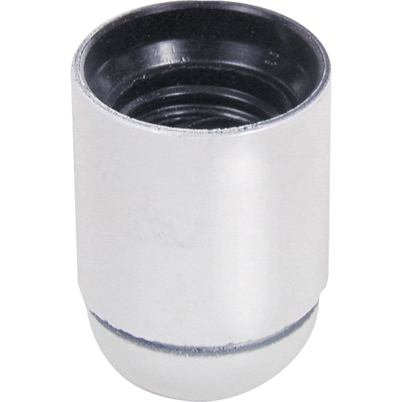 Douille lisse e27 tibelec plastique blanc 60 w leroy merlin - Lisse pvc leroy merlin ...