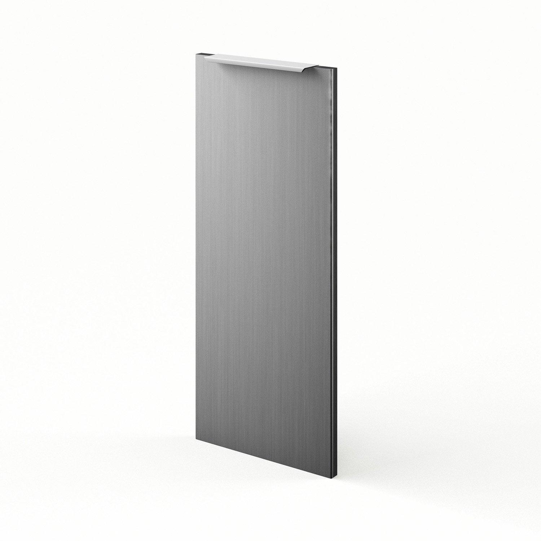 Porte de cuisine d cor aluminium f30 stil l30 x h70 cm for Decoration porte leroy merlin