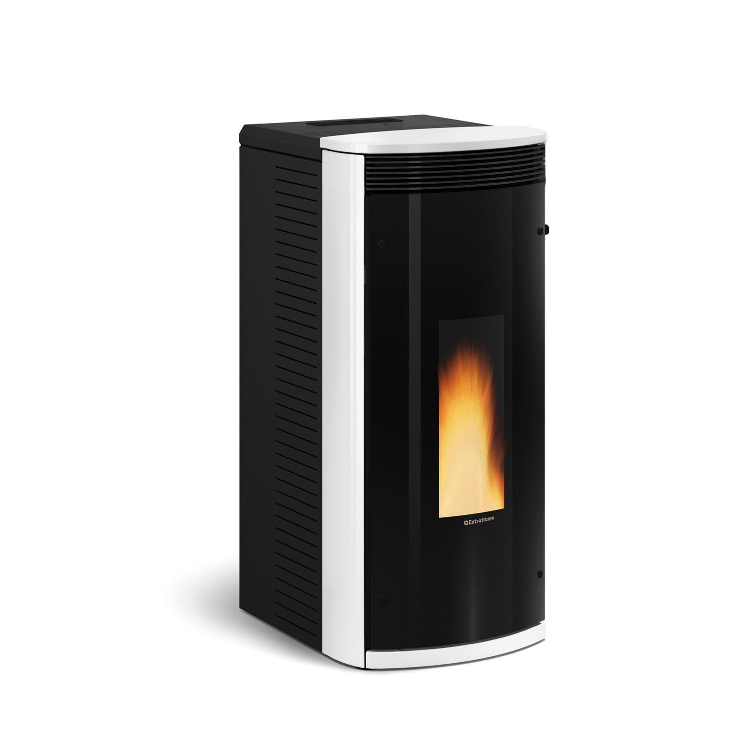 po le granul s extraflame sibilla blanc 8 2 kw leroy merlin. Black Bedroom Furniture Sets. Home Design Ideas