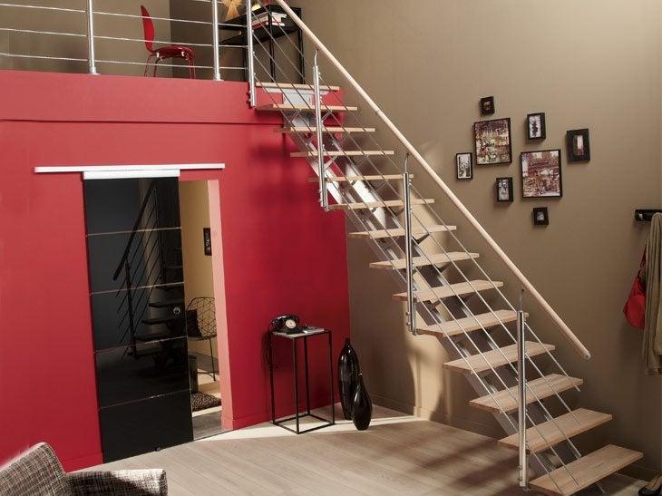Escaliers sur mesure la bonne marche suivre leroy merlin - Escalier sur mesure leroy merlin ...