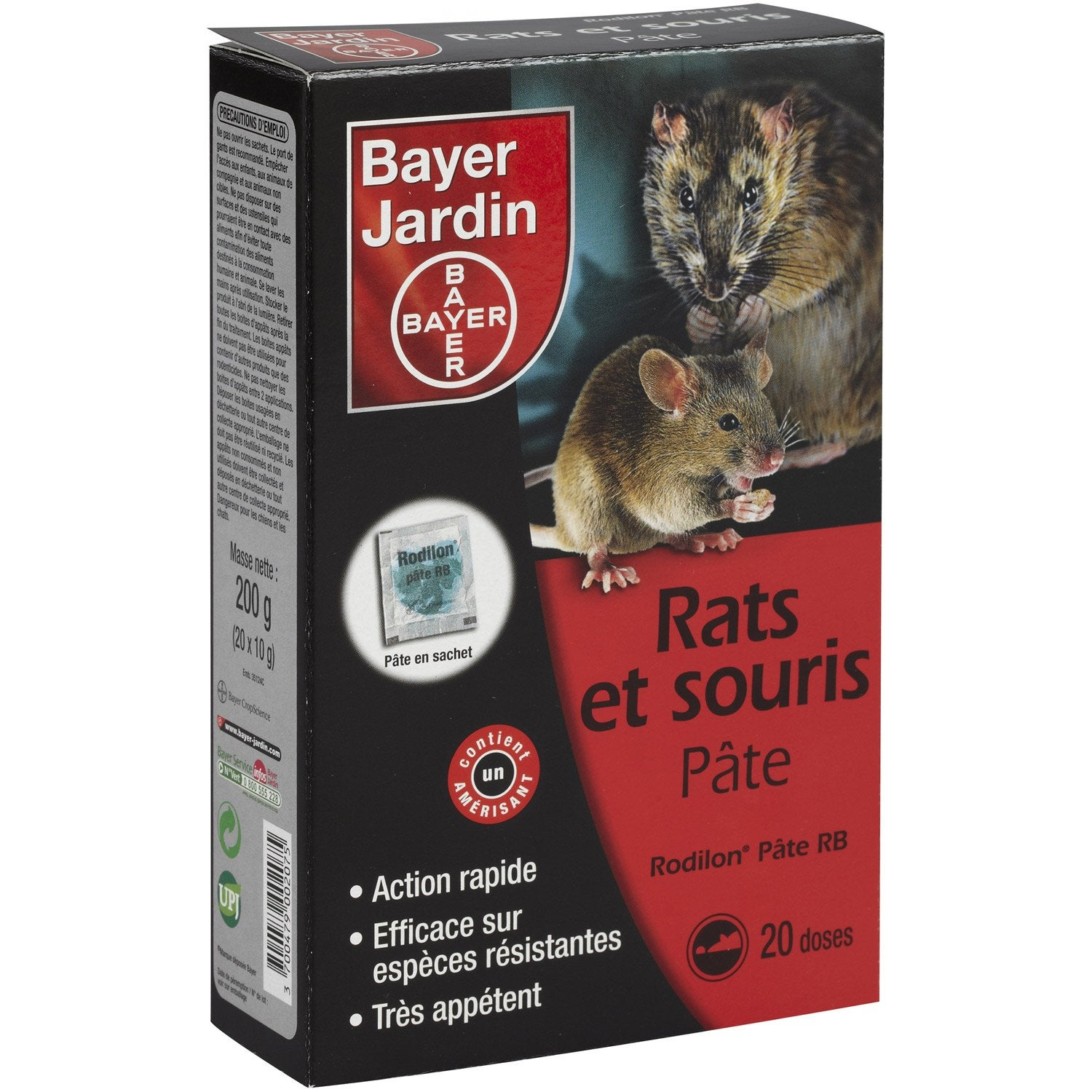 recharge antirats et souris bayer 200 g leroy merlin. Black Bedroom Furniture Sets. Home Design Ideas