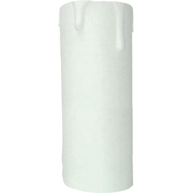 bougie e14 tibelec plastique blanc leroy merlin. Black Bedroom Furniture Sets. Home Design Ideas
