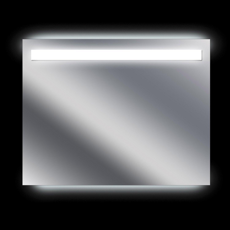 Miroir lumineux eclairage int gr x cm sensea - Miroir grossissant leroy merlin ...