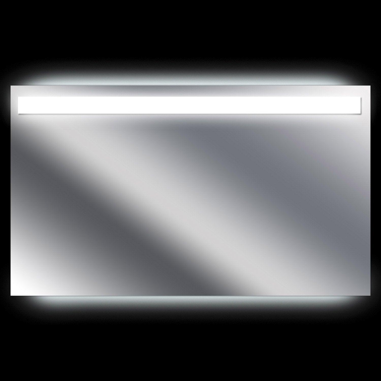 Miroir lumineux avec clairage int gr x cm for Miroir chauffant salle de bain