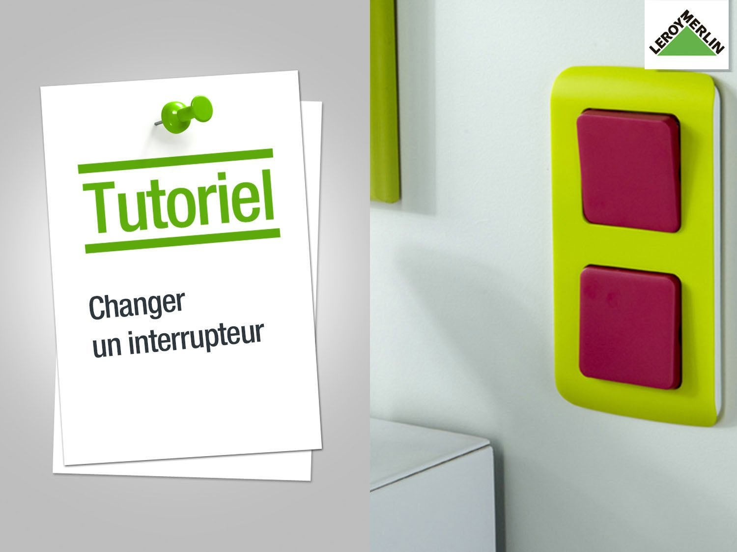 Comment reparer un interrupteur for Monter un va et vient en interrupteur simple